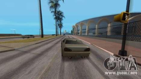 Mejora física de conducción para GTA San Andreas quinta pantalla