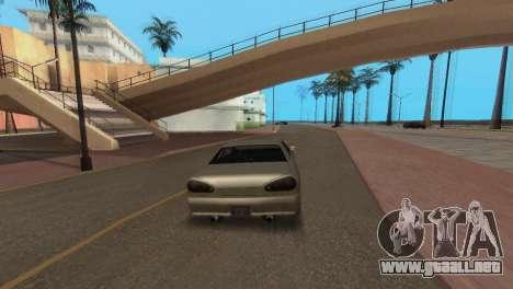 Mejora física de conducción para GTA San Andreas sucesivamente de pantalla