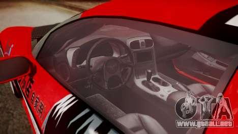 Chevrolet Corvette Z51 Another Itasha para la visión correcta GTA San Andreas