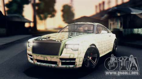 GTA 5 Enus Windsor para la vista superior GTA San Andreas