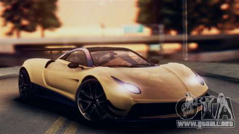 Pegassi Osiris from GTA 5 IVF para GTA San Andreas