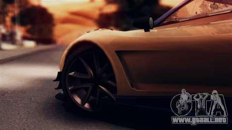 Pegassi Osiris from GTA 5 IVF para GTA San Andreas vista hacia atrás