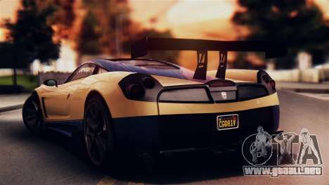 Pegassi Osiris from GTA 5 IVF para GTA San Andreas left