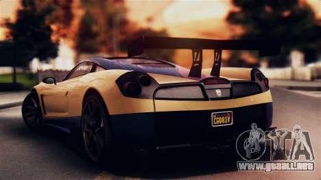 Pegassi Osiris from GTA 5 IVF para GTA San Andreas left