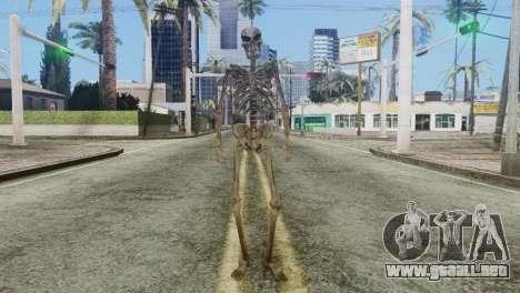Skeleton Skin v2 para GTA San Andreas segunda pantalla