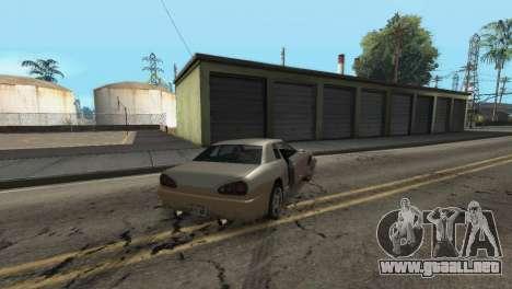 Mejora física de conducción para GTA San Andreas sexta pantalla