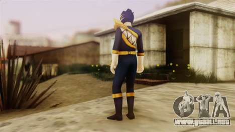Power Rangers Skin 4 para GTA San Andreas segunda pantalla