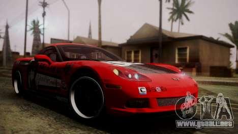 Chevrolet Corvette Z51 Another Itasha para GTA San Andreas