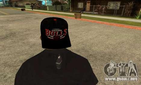 Groove Skin para GTA San Andreas quinta pantalla