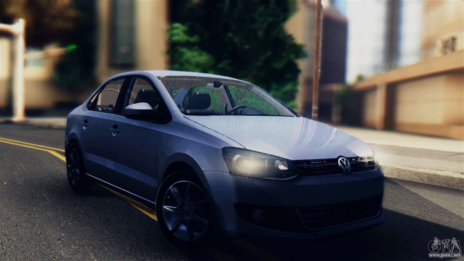 volkswagen polo para gta san andreas. Black Bedroom Furniture Sets. Home Design Ideas