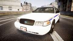 Ford Crown Victoria RCMP Campbellton [ELS] para GTA 4
