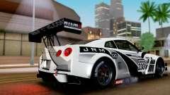Nissan GT-R (R35) GT3 2012 PJ4 para GTA San Andreas
