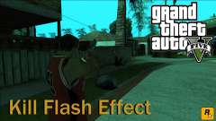 GTA 5 Kill Flash Effect para GTA San Andreas