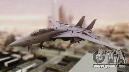 F-14A Tomcat VFA-211 Fighting Checkmates para GTA San Andreas