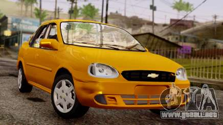 Chevrolet Corsa Classic 2009 v2 para GTA San Andreas
