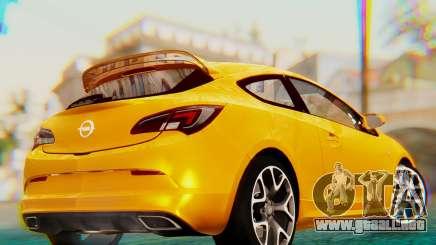 Opel Astra J OPC para GTA San Andreas