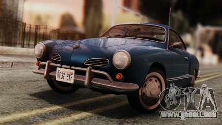 Volkswagen Karmann-Ghia Coupe (Typ 14) 1955 IVF para GTA San Andreas