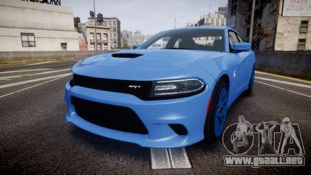 Dodge Charger SRT 2015 Hellcat para GTA 4