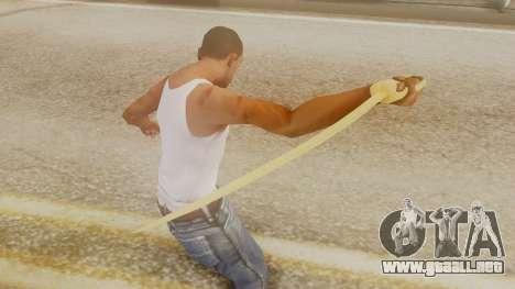 Red Dead Redemption Katana Assasin para GTA San Andreas tercera pantalla