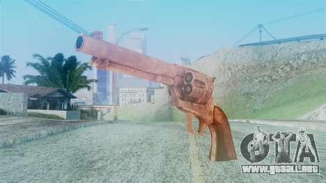 Red Dead Redemption Revolver Cattleman para GTA San Andreas
