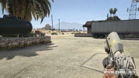 GTA 5 Halo UNSC: Magnum octavo captura de pantalla