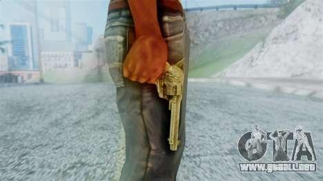 Red Dead Redemption Revolver Cattleman Diego v2 para GTA San Andreas tercera pantalla