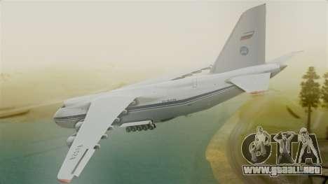 Antonov 124 para GTA San Andreas left