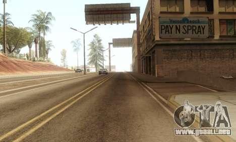 ENB & Colormod v 1.0 para GTA San Andreas tercera pantalla