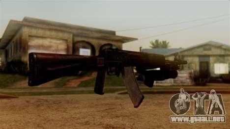 An-94 Abakan para GTA San Andreas tercera pantalla