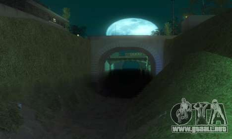 ENB & Colormod v 1.0 para GTA San Andreas quinta pantalla