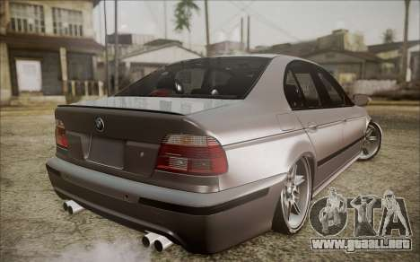 BMW M5 E39 E-Design para GTA San Andreas left