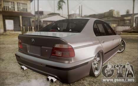 BMW M5 E39 E-Design para GTA San Andreas left