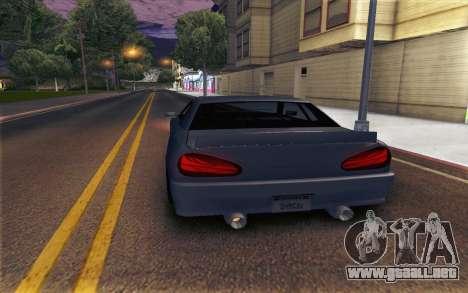 Elegy Explosion v1 para GTA San Andreas left
