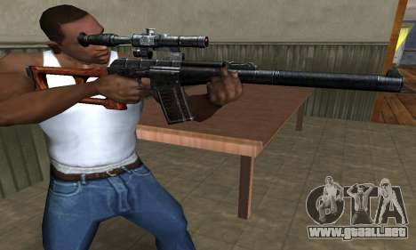 Old Sniper para GTA San Andreas segunda pantalla