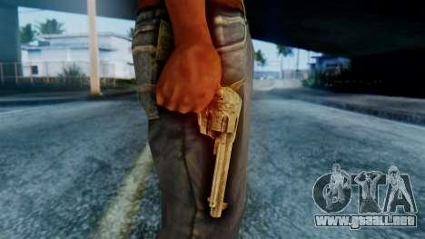 Red Dead Redemption Revolver para GTA San Andreas tercera pantalla