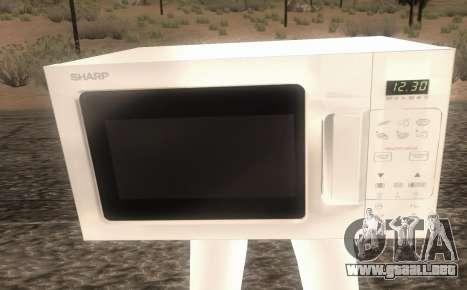Microwave from Goat MMO para GTA San Andreas segunda pantalla