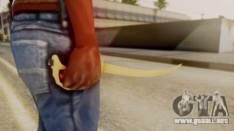 Red Dead Redemption Katana Assasin para GTA San Andreas segunda pantalla