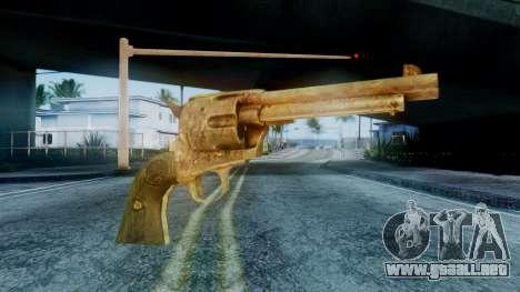 Red Dead Redemption Revolver para GTA San Andreas