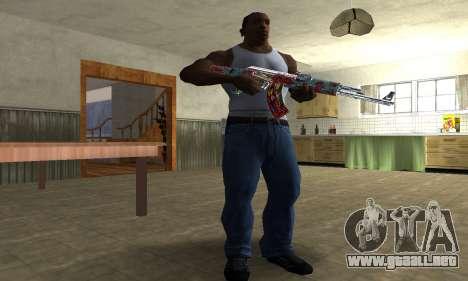 Cool Graf AK-47 para GTA San Andreas tercera pantalla