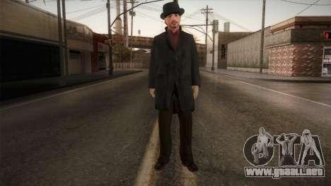 Sherlock Holmes v1 para GTA San Andreas segunda pantalla