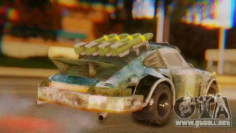 Porsche 911 Death Race para GTA San Andreas left