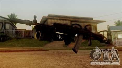 An-94 Abakan para GTA San Andreas segunda pantalla