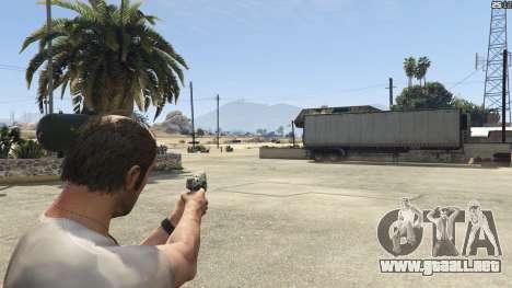 GTA 5 Halo UNSC: Magnum cuarto captura de pantalla