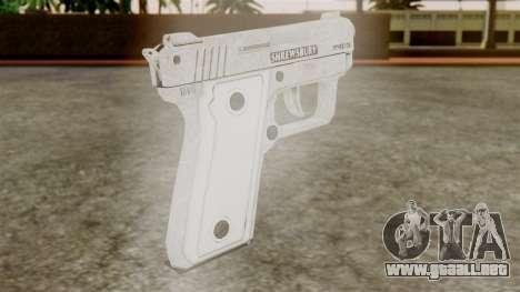 GTA 5 SNS Pistol para GTA San Andreas segunda pantalla