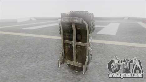 Ghostbuster Rucksack para GTA San Andreas segunda pantalla