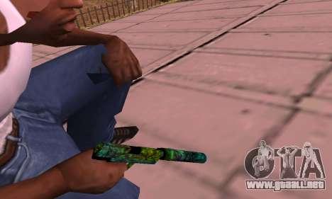 USP Doggers para GTA San Andreas segunda pantalla