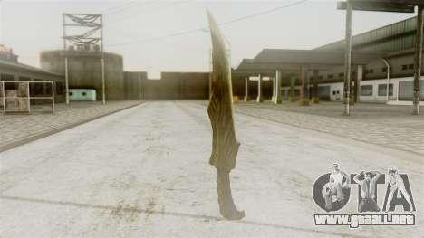 Elven Dagger para GTA San Andreas segunda pantalla