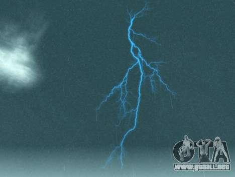 Realista tormenta para GTA San Andreas