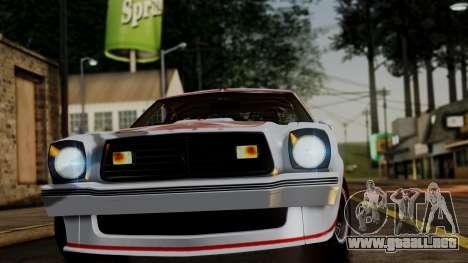Ford Mustang King Cobra 1978 para GTA San Andreas