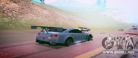 Brandals ENB v2 para GTA San Andreas sucesivamente de pantalla